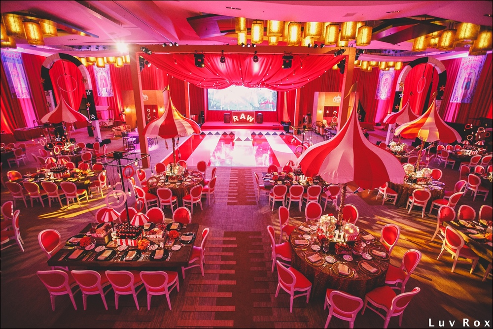 Circus Themed Bat Mitzvah Jw Marriott Marquis Miami Fl